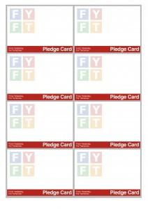 FYFT Pledge Card